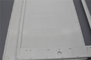 Tablet plastic front and rear cover