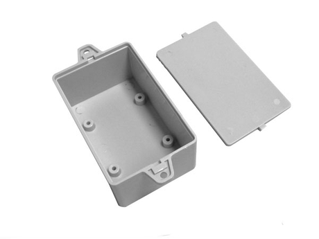 Security plastic parts