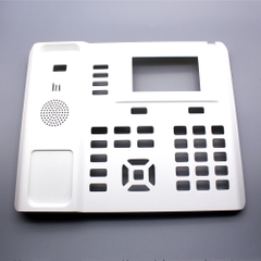 Customized OEM / ODM Injection Molded Telephone Front Cover Accessories